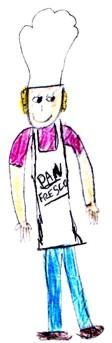 pan fresco (frag. dibujo de un niño)
