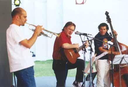 Luis con Eugenio y Luri
