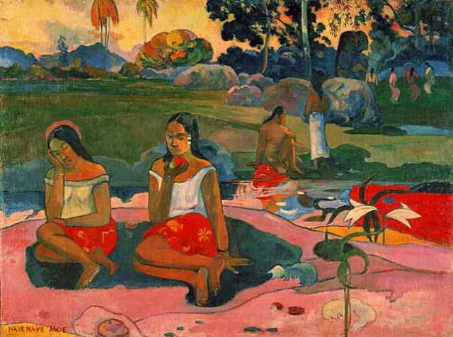 Paul Gauguin: tahitianas