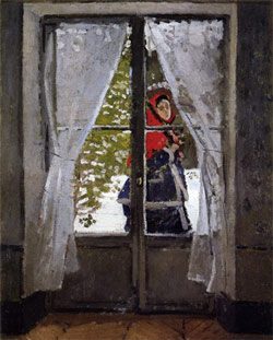 Monet: The red kerchief